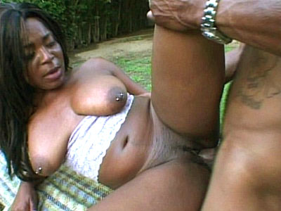 Ripped Sexy Black Pussy